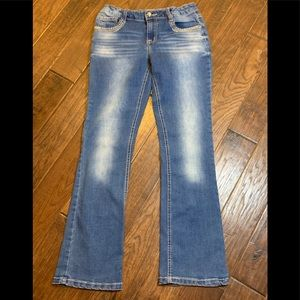 Imperial Star Girl Adjustable Waist Jeans sz 14